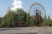 Abandoned fairground