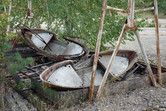 Abandoned swingboats