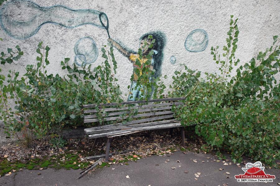 The saddest bench
