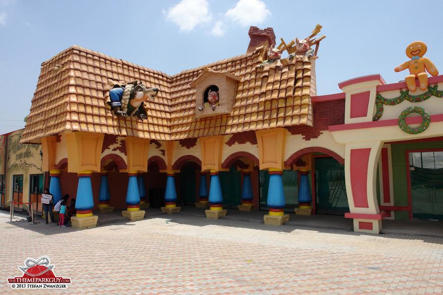 Charming facades