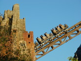 Lift hill from the side