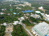 Disney's Animal Kingdom aerial view
