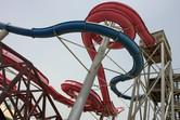 Intertwining thrill slides