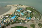 Aqua Park Kuwait aerial view