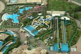 Aqua Park Kuwait slide towers