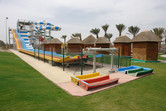 The water park was closed at the time of my visit