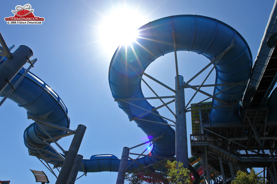 The slide and the sun