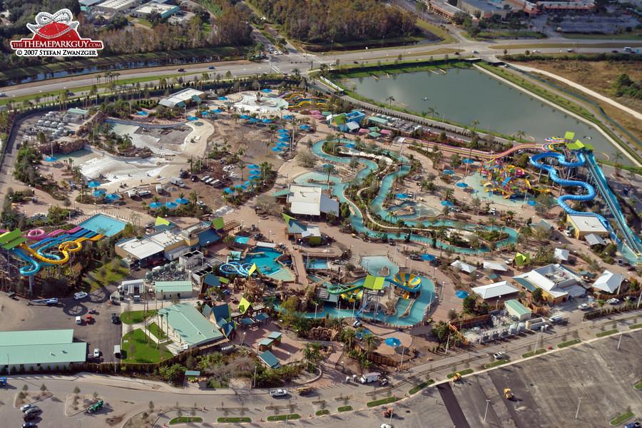 Aquatica aerial view