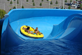 Family rafting slide