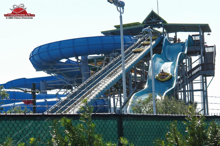 HooRoo Run slide