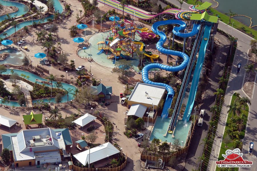My favorite, the HooRoo Run slide (on the right)