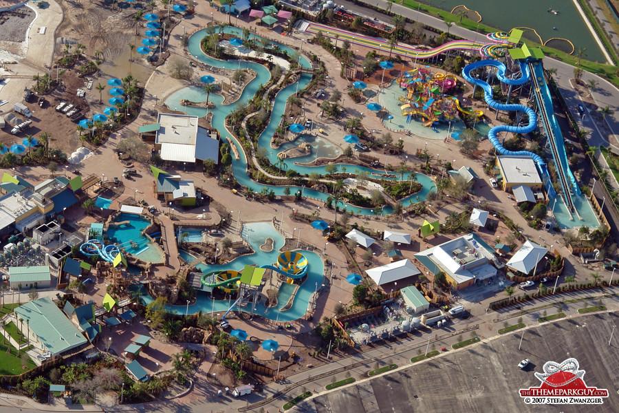 Aquatica aerial view, the second