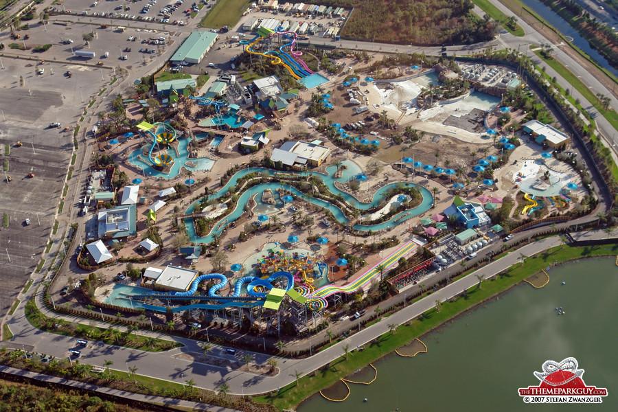 Aquatica aerial view, the last