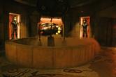 Lost city of Atlantis scenery