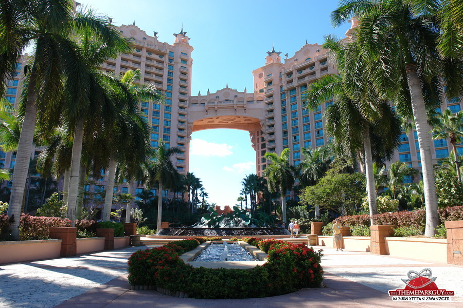 Atlantis bahamas photographed reviewed and rated by the theme park guy - Atlantis hotel in bahamas ...
