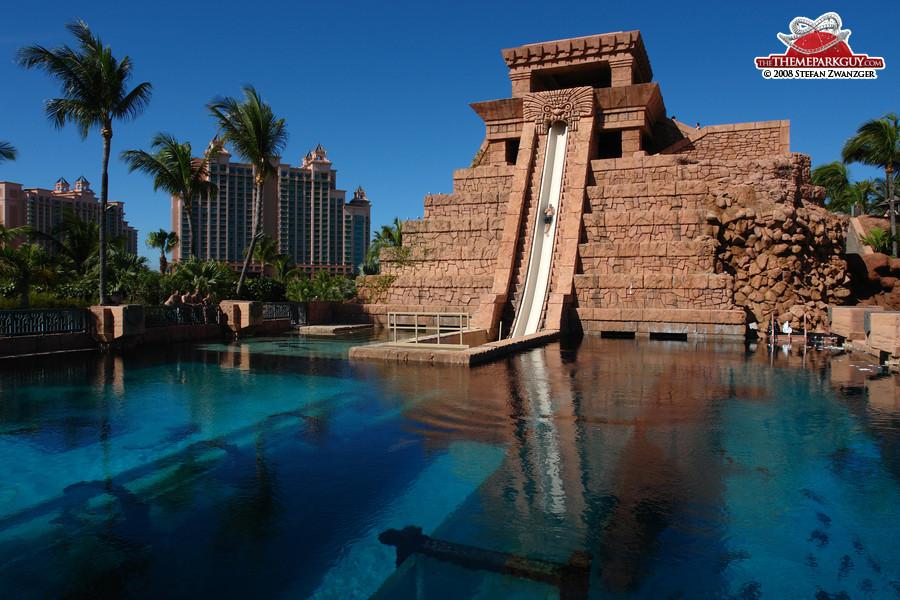 Atlantis Paradise Island, Bahamas Atlantis Hotel Atlantis Casino Atlantis  Bahamas Employee Atlantis Paradise Island Water Park Leap Of Faith Slide ...