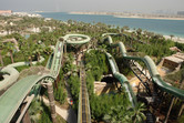 Aquaventure water coaster slides