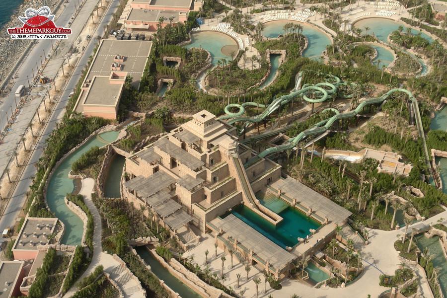 Atlantis Dubai Slide Tower