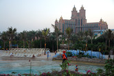Atlantis hotel seen from the adjoining water park