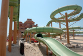 Water coaster slides in the making