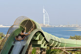 Burj al Arab hotel in the background
