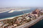 Aquaventure water park aerial shot