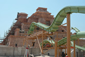Atlantis water park construction site