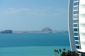 Atlantis seen from the Burj Al Arab hotel