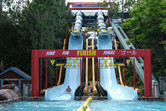 This one is my favorite at Blizzard Beach: it's fast and smooth!
