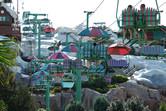 Ski lift up to the slides
