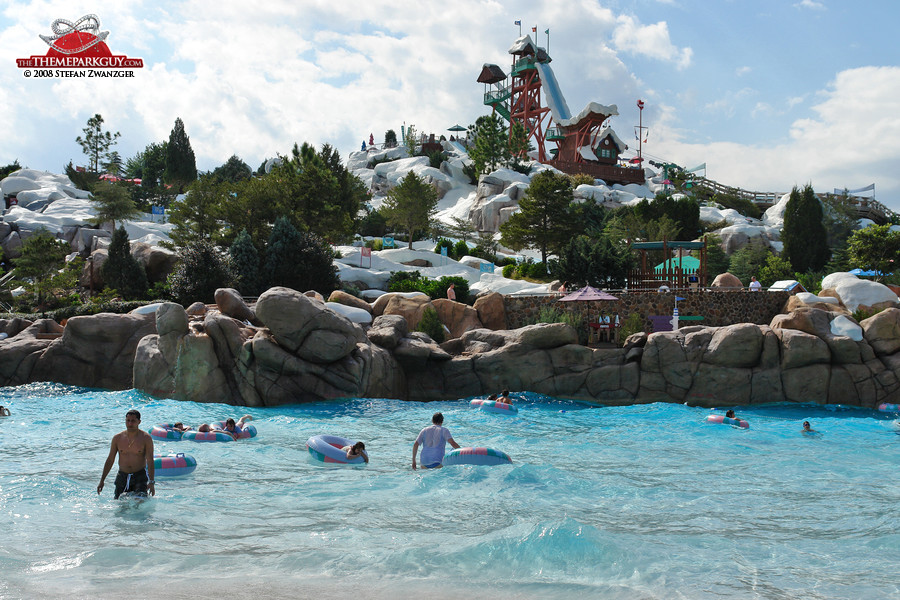 Blizzard Beach From Above Disney S Water Park