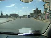 Addis Ababa street setting