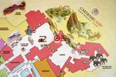 Tourist ghetto map