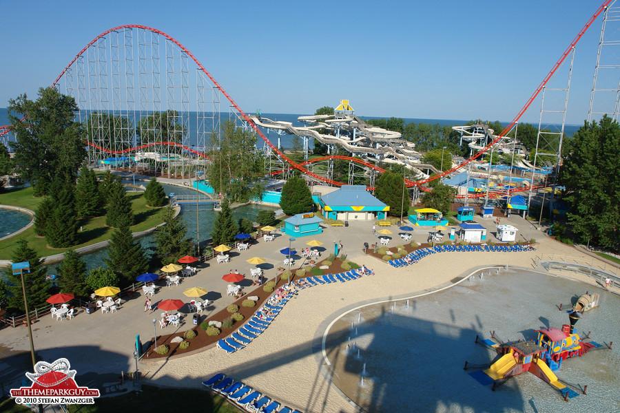 Cedar Point water park