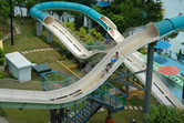 Chime Long water coaster slide