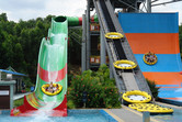 Choice of family rafting slides