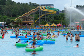 Chime Long Waterpark crowds