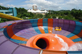 Giant bowl slide