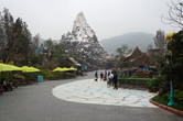 What's this? Disneyland's Matterhorn?