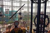 Kuala Lumpur behind the glass
