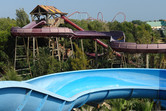 Costa Caribe, with PortAventura coaster in the background
