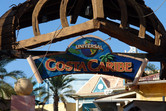 Evidence of the Universal Studios past of Costa Caribe