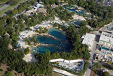 Discovery Cove aerial view