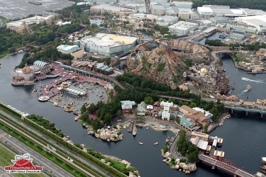 Tokyo DisneySea aerial