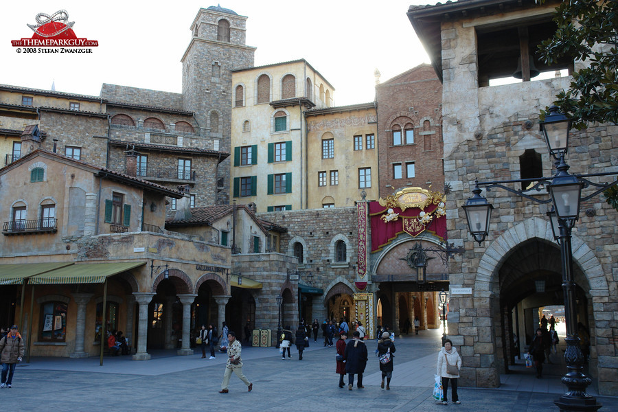 Disney Sea Mediterranean Harbor