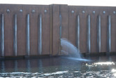 This fake floodgate leak is just another wonderful detail