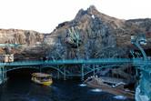 This volcano harbor constitutes the peak of theme park design to date
