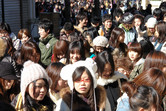 DisneySea fans queuing