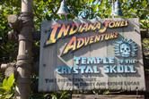 Indiana Jones ride. The topic of the fourth movie has been disclosed here for years!