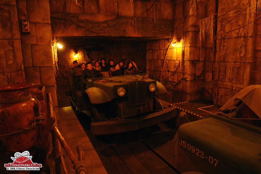 Indiana Jones ride vehicle